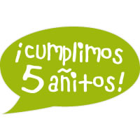 Cumplimos cinco añitos